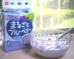 Photo2: まるごとブルーベリー、Whole Blueberry-freeze dried