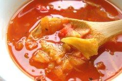 Photo1: ザク切りキャベツとトマトのスープ、Cabbage&Tomato Soup